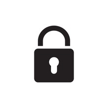 Padlock Icon Design Vector Ill...