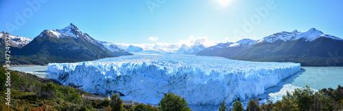 Panoramic View Of Perito Moreno Glacier Fototapet