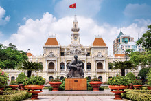 Ho Chi Minh City Hall In Ho Chi Minh City Aka Saigon, Vietnam.