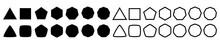 Set Of Geometric Shapes, Polyg...