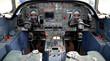 Falcon 10 cockpit close up