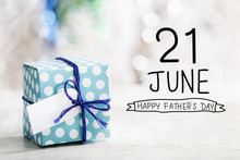 21 June Happy Fathers Day Mess...