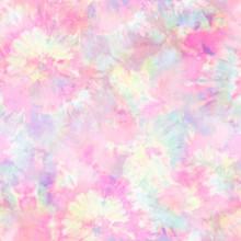 Abstract Wheel Tie Dye Print