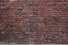 Urban Architecture, Old Red Brick Wall Background
