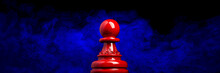 Macro Image Of A Wooden Chess ...