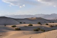 Sand Dunes At Desert Against Sky