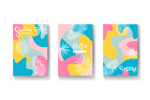 Bright Summer Background With ...
