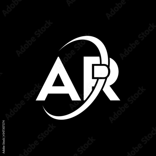 Photo AR Letter Logo Design