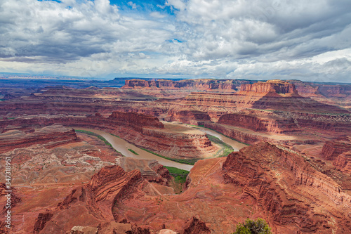 The Colorado River From Dead Horse Point State Park Utah USA