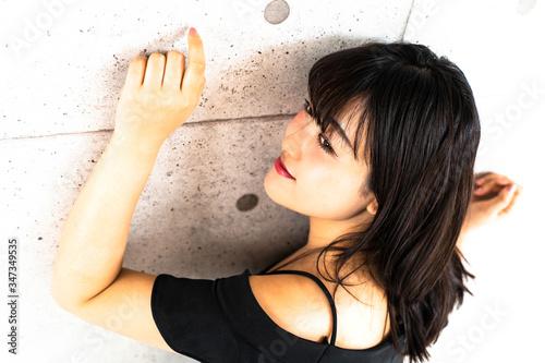 Fotografie, Tablou セクシーな秘書の女性