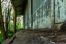 Old Metal Sheet Train Station ...