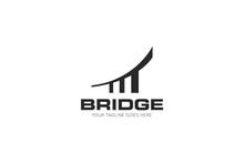 Bridge Logo And Icon Vector Illustration Design Template