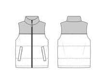 Sleeveless Puffer Jacket
