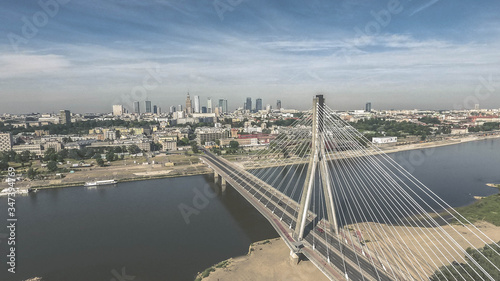 Aerial View Of Bridge Over River In City © mark fedorenko/EyeEm