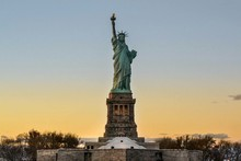 Statue Of Liberty Against Clea...