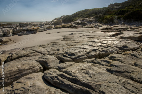 rock formations at cape of good hope Canvas-taulu