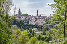 View Of The Old Town Of Rottweil Germany