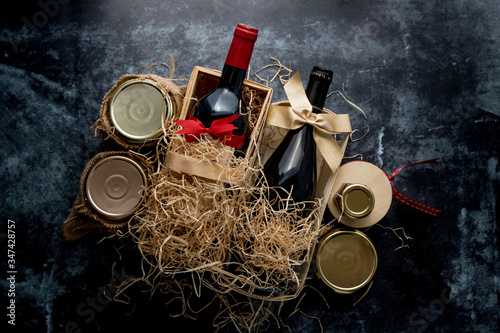 Fotografering Coffret cadeau gastronomique