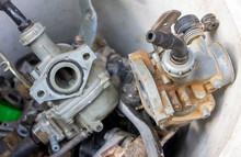 Used Carburators In A Plastic ...