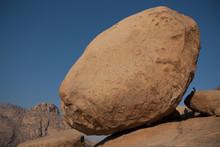 Boulders In Desert