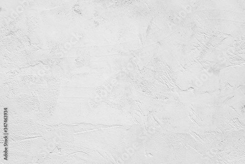 Fototapeta White abstract background. White stucco wall of an old house. obraz