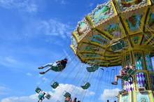 Kassel, Germany - Carousel In ...