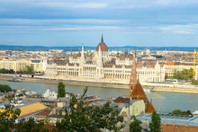 Hungarian Parliament Building,...