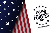 Armed Forces Day Card Or Backg...