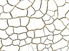 Full Frame Shot Of Cracked Soil