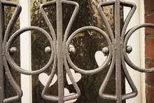 Full Frame Shot Of Wrought Iron