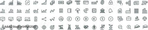 Stock Market & Trading Icons