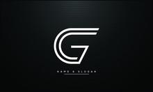 CG ,GC ,C ,G  Letters  Abstract Logo Monogram
