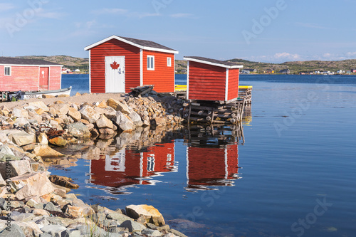 Photo The fishing village of Tilting, Fogo Island, Newfoundland and Labrador, Canada