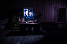 A Realistic Dollhouse Living R...