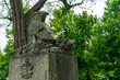 Berlin Invaliden Friedhof Gedenkstätte und öffentlicher Park für Besucher zugänglich. Ein Geheimtipp und ein Stück von der DDR Mauer.