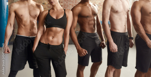 The Six packs you aspire Canvas Print