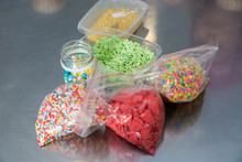 Colorful Candy Sprinkles In S...