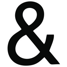 Vector Image Of An Ampersand T...