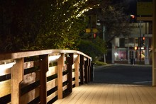 Wooden Footbridge Leading Towa...