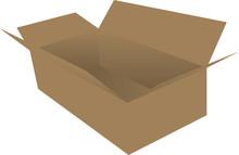 Rectangular Cardboard Box