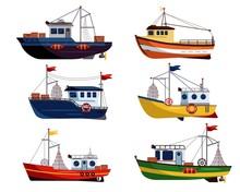 Fishing Boat. Commercial Fishi...