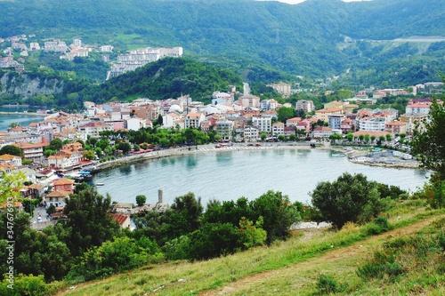 Fototapeta High Angle View Of Town obraz na płótnie