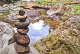 Fototapeta Kamienie - Stack Of Stones