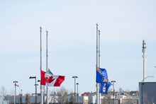 Canadian Flag And Other Flags ...