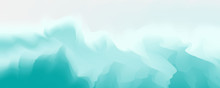 Abstract Pastel Green Gradient...
