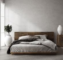 Luxury Bedroom Interior With M...