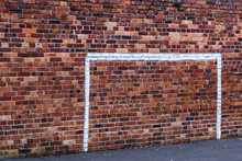 Painted Goal Posts