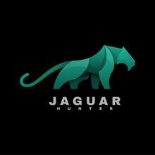 Vector Logo Illustration Jagua...