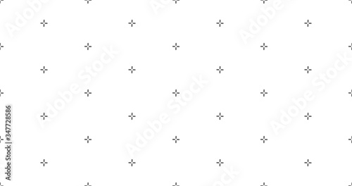 Fotografija Vector cross stich plus seamless pattern, geometric background