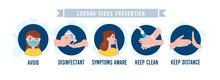 Coronavirus Covid-19 Home Quarantine Advices On Household, Hygiene And General Prevention
